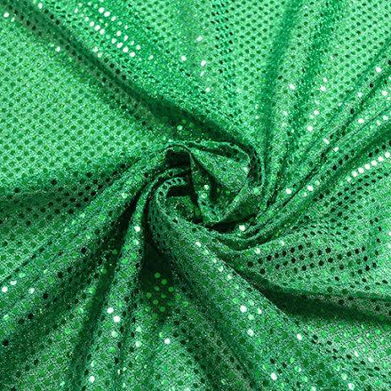 Glitterpaljett - grön