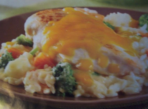 Stir in vegetables. Return chicken to skillet. Sprinkle with cheese. Cover and cook 5-10 minutes, or untill...