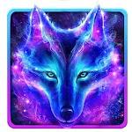Night Sky Wolf Live Wallpaper Icon