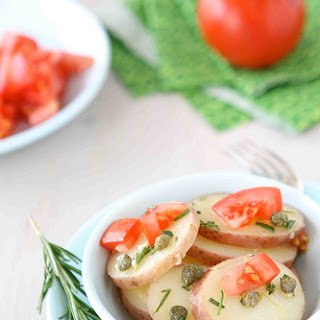 Potato Salad with Rosemary & Capers Dressing