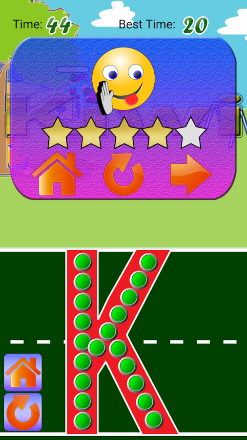 Letter Trace Battle- Write ABC- screenshot