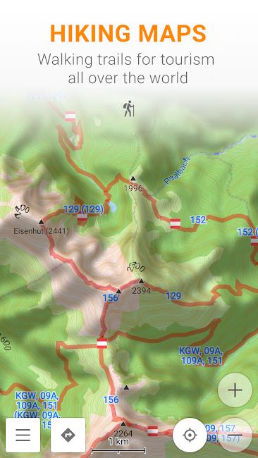 #5. Maps & GPS Navigation OsmAnd+ (Android)