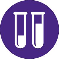 Simplified Laboratory Test Tube Illustrations