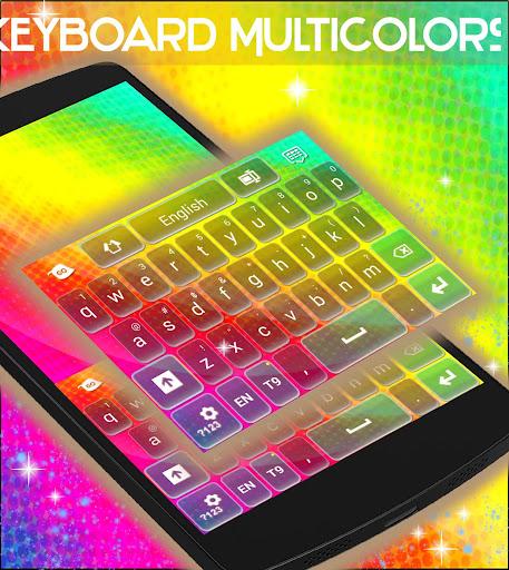 玩免費社交APP|下載鍵盤Multicolors app不用錢|硬是要APP
