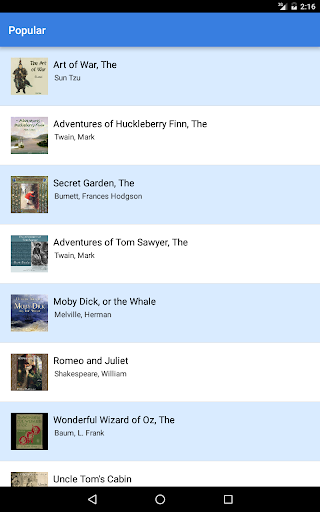 Audiobooks screenshot 5