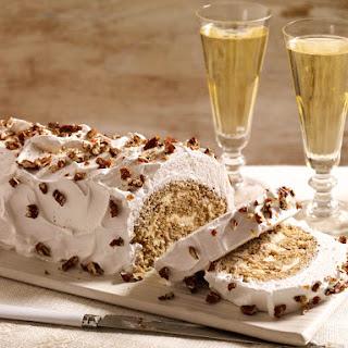 Gingerbread Buche de Noel From 'Baking Chez Moi'.