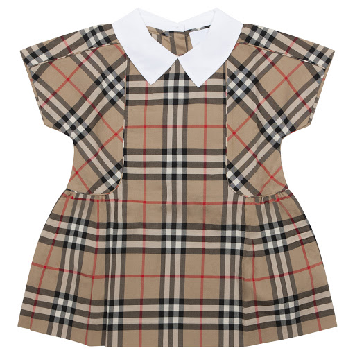 Primary image of Burberry Baby Patterned Dress