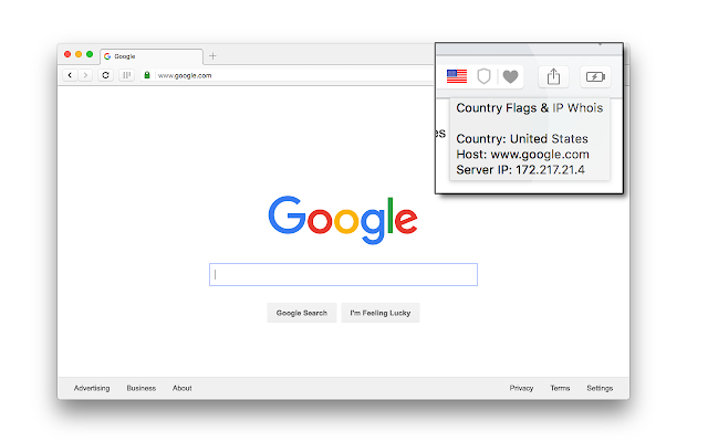 Country Flags & IP Whois