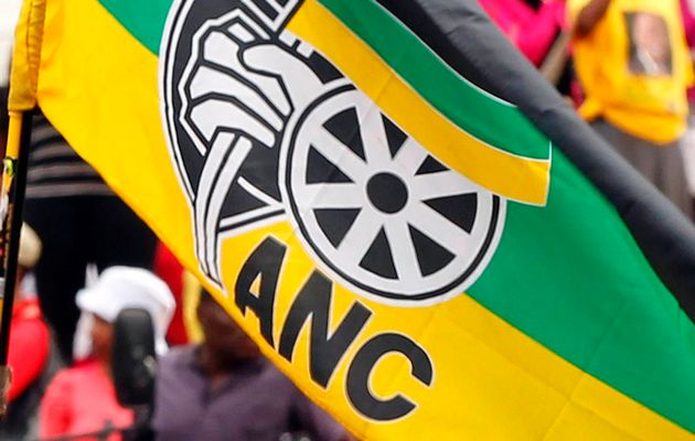 ANC flag. File picture