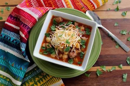 "Pozole""My husband loves pozole, but I have always hated making it because..."