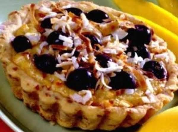Blueberry-coconut Tartlets