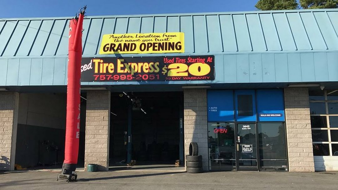 Used Tire Express Used Tire Shop In Virginia Beach