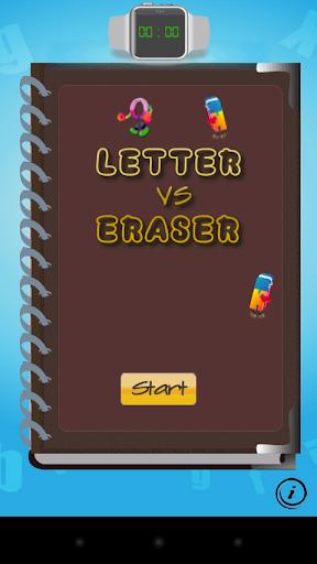 Letter vs Eraser : Make A Word