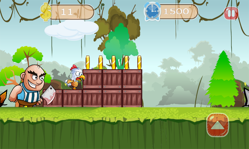 chicken run escape- screenshot