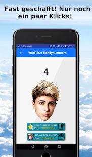 YouTuber Handynummern - náhled