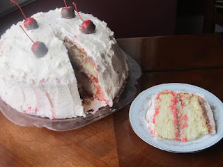 Cherry Smashed Cake Recipe