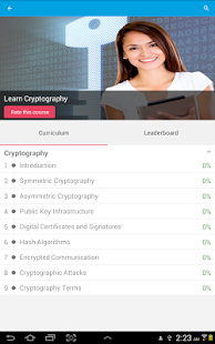 Learn Cryptography- screenshot thumbnail
