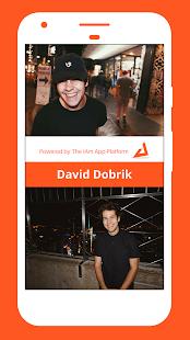 The IAm David Dobrik App - náhled