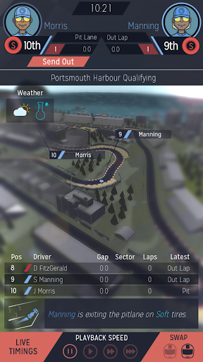 Motorsport Manager Mobile image 11