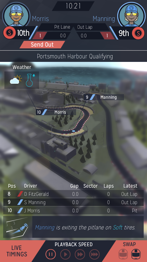 Motorsport Manager Mobile- screenshot