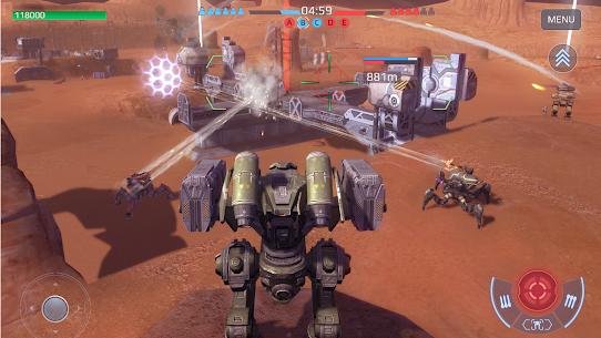 War Robots Mod Apk (Inactive Bots) 6