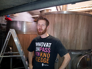 Photo: The original Thornbridge microbrewery is still used for test batches and experimental brews.