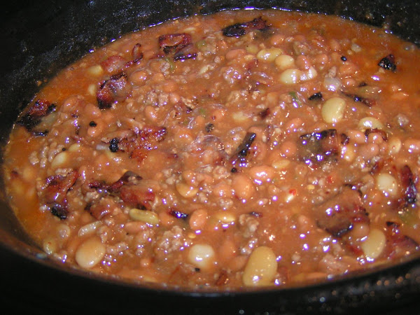 Darn Good Loaded Crockpot Bbq Beans Recipe