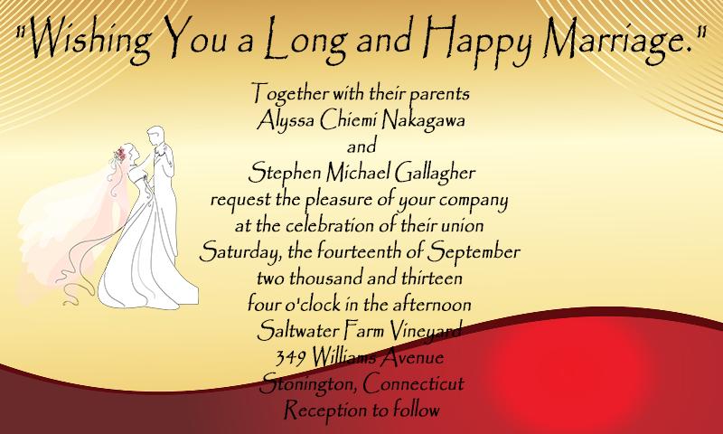 Wedding Invitation Map Maker: Wedding Invitation Cards Maker