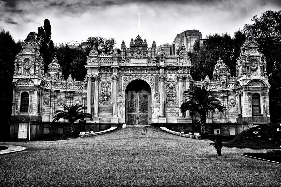 Dolmabahce Palace by Rafael Uy - City,  Street & Park  Historic Districts ( pwcbuilding )