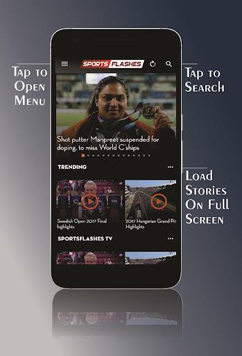 SportsFlashes - Sports Radio, TV, Scores & Updates 5.6 screenshots 2
