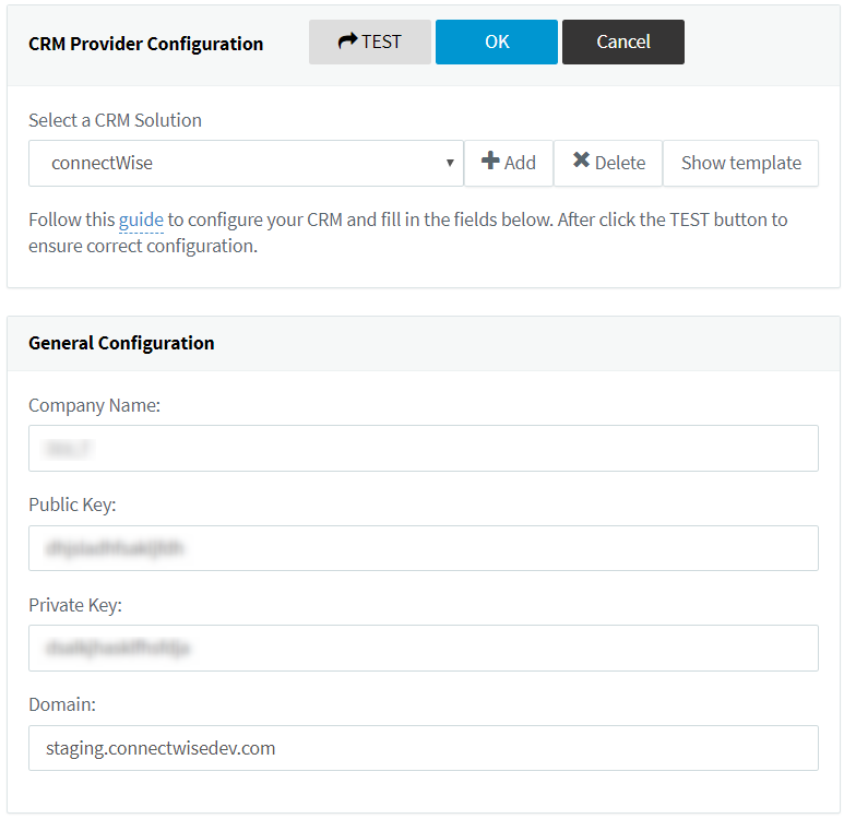 Integrate your ConnectWise CRM with 3CX's PBX PRO edition