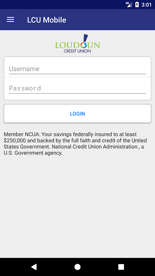 Loudoun Credit Union- screenshot