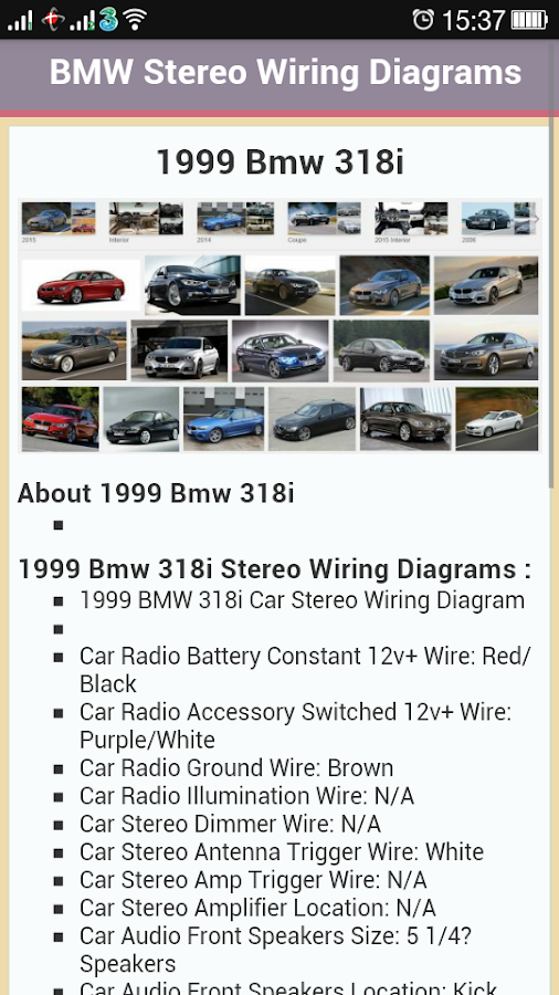 App Radio Wiring Diagram : Car stereo wiring diagrams android apps on google play