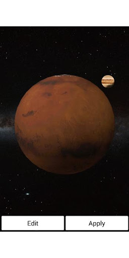 Mars JupiterLiveWallpaperPro