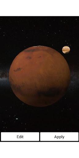 火星 木星 ライブ壁紙 プロ