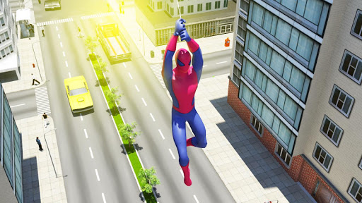 Télécharger Super Spider hero 2018: Amazing Superhero Games APK MOD (Astuce) screenshots 1