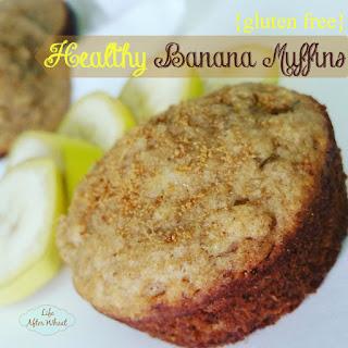 Healthy Banana Muffins.