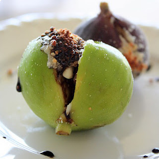 Fresh Figs with Parmigiano-Reggiano and Balsamic Reduction Recipe