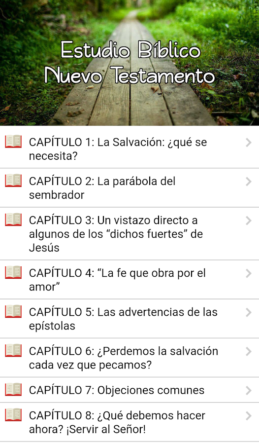 Estudio Bíblico del NT- screenshot