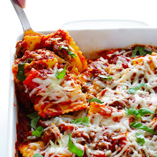 "Super-Easy Ravioli ""Lasagna"""