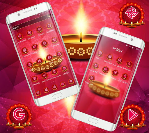 diwali hot theme screenshot 2