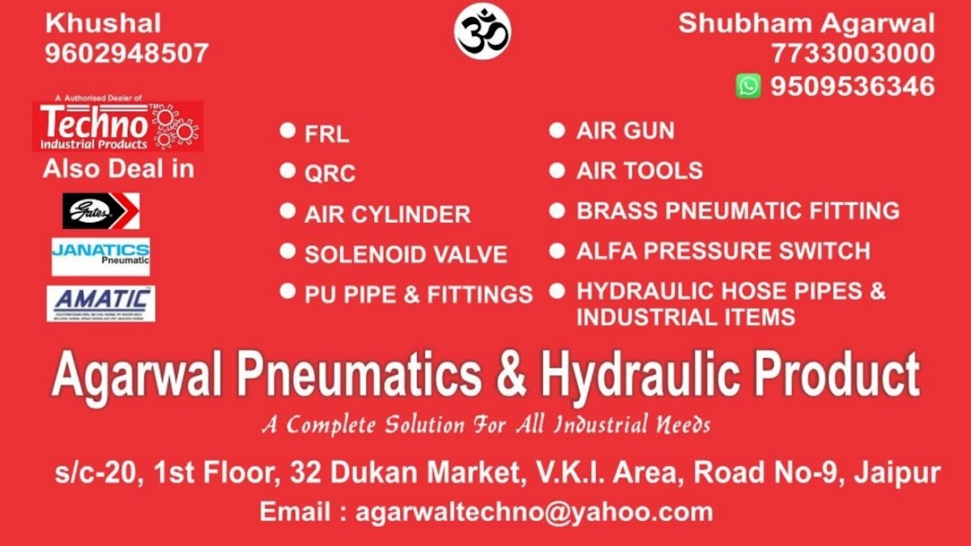 Agarwal pneumatic & hydraulic product - Hardware Store in Jaipur