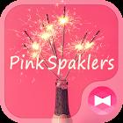 Süße Wallpaper Pink Spaklers +HOME icon
