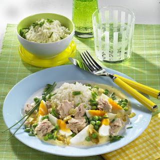Easy Creamy Tuna and Rice