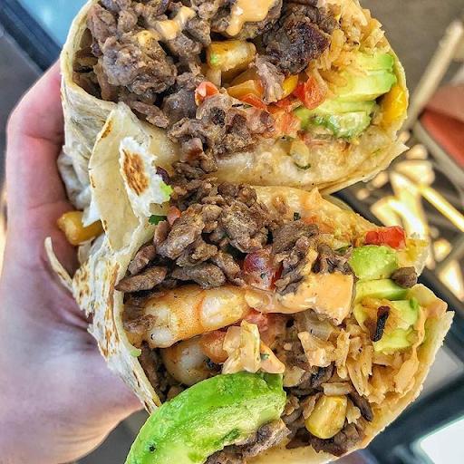 Surf N' Turf Burrito