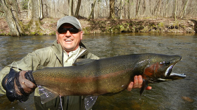 Salmon river pulaski ny fishing guide steelhead report for Salmon river ny fishing map