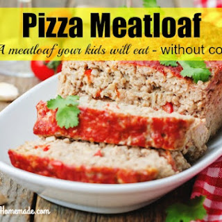 Easy Pizza Meatloaf Recipe ~ Finally a Meatloaf Your Kids Will Eat Without Complaint!