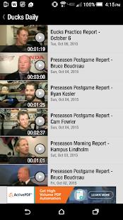 Anaheim Ducks Official App- screenshot thumbnail