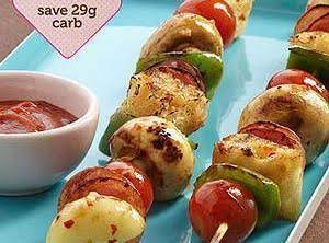 Pizza Kabobs Recipe