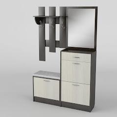 Прихожая №5 мебель разработана и произведена Фабрикой Тиса мебель